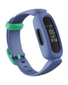 Monitor de actividad Fitbit Ace 3 para niños (azul cósmico / verde astro)