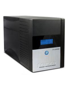 UPS Interactiva Forza FX-1500LCD-C, 1500VA, 840W, Onda senoidal, Indicador LCD, USB