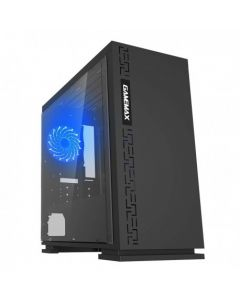 Gabinete Gamemax Expedition H605, Mid Tower, MATX, Color Negro