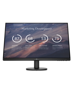 Monitor HP P27v G4, 27'', LCD, Panel TN, FHD (1920x1080), HDMI, VGA, 5ms, Color negro