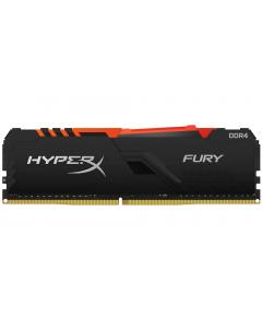 HyperX FURY RGB - DDR4 - 32 GB - DIMM de 288 espigas - 3466 MHz / PC4-27700 - CL17 - 1.35 V - sin búfer - no ECC - negro