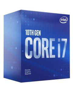 Procesador Intel I7-10700F, Socket LGA 1200, 8-Cores, 2,9Ghz
