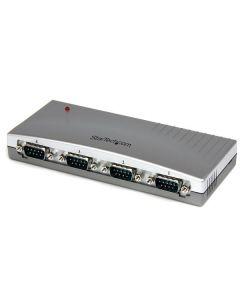 Hub Concentrador USB a 4 Puertos Seriales RS232 - DB9 - Adaptador USB a Serial