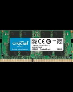 Memoria Ram Crucial 8GB DDR4 2666MHz, SO-DIMM, 1.2V