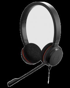 Diadema Jabra Evolve 20SE, Estéreo, USB, Control de volumen, Color negro