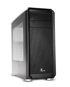 Xtech - DELIRIUM Chasis Gamer tipo torre  ATX/MicroATX - Black