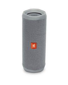 Altavoz estéreo portátil inalámbrico JBL Flip 4 (gris)