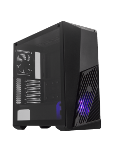 Gabinete Cooler Master MasterBox K501L RGB (Vidrio Templado, Sin Fuente, ATX, Negro)