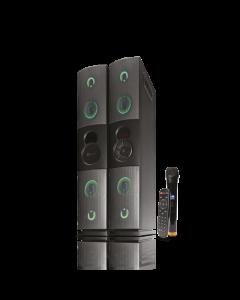 Klip Xtreme KFS-600 - Speaker system - Black - Floorstanding Set2