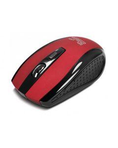 Klip Xtreme Klever mouse optical inalámbrico con 6-botones | nano USB (rojo)
