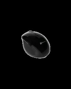 Mouse Ergonómico KlipXtreme Orbix, 2.4Ghz, 6 Botones, Wireless, Negro