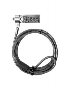 Klip Xtreme - Notebook Bolt IV | cable de seguridad de combinación y llave