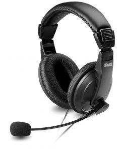 Klip Xtreme - Auricular estéreo con control de volumen