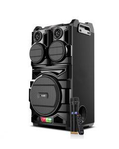 Klip Xtreme BigBash | Sistema de altoparlantes para fiestas con refuerzo de graves y micrófonos inalámbricos