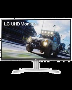 Monitor LG 32UN550-W, 31,5'', UHD 4K (3840x2160), FreeSync, Panel VA, HDR10, HDMI, DisplayPort