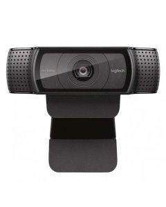 Logitech HD Pro Webcam C920e - Web camera - USB 3.0 - 1920 x 1080 - Integrated Microphone