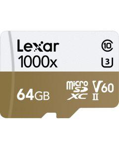 Memoria MicroSDXC 64GB Lexar Professional UHS-II V60 4K