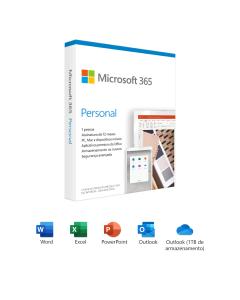 Microsoft 365 Personal - Annual subscription - Licencia Español/Inglés, 1 Año