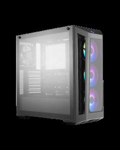 Gabinete Cooler Master MasterBox MB530P (ATX, ARGB, Vidrio templado, Negro)
