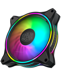 Ventilador Gamer Cooler Master Masterfan MF120 Halo, Dual Loop ARGB Lighting