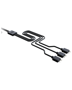 Cable Splitter Cooler Master 1-to-3 ARGB Trident Fan