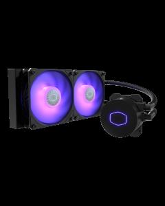 Sistema de Enfriamiento Liquido AIO Cooler Master Masterliquid ML240L V2 RGB - 240mm Intel y AMD