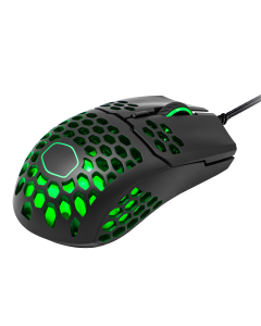 Mouse Gamer Cooler Master MM711, 6 Botones, 16000 DPI, Negro Mate