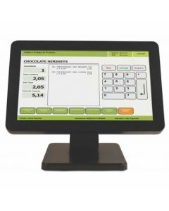 "LCD Monitor - 15.6"" - Black - Touchscreen"