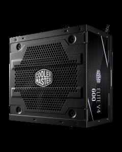Fuente de Poder Cooler Master ELITE 600W V4 (ATX, 600 Watts, Certificado 80+)