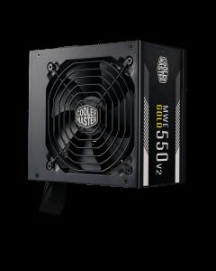 Fuente de Poder Cooler Master MWE V2 de 550W (Certificada 80+ Gold, ATX)