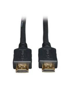 Tripp LiteCable HDMI de Alta Velocidad, Video Digital con Audio, UHD 4K (M/M), Negro, 7.62 m