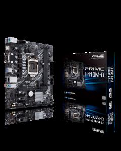Placa Madre Asus Prime H410M-D, Socket LGA 1200, Micro-ATX, Soporte M.2, SATA 6Gbps