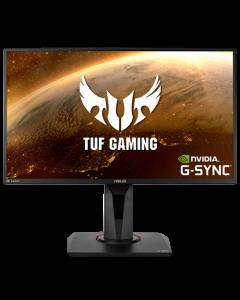 Monitor TUF Gaming VG259QM - 24,5 pulgadas Full HD (1920 x 1080), IPS rápido, overclocking de 280Hz (arriba de 240 Hz, 144 Hz), 1 ms (GTG), Extreme Low Motion Blur Sync, compatible con G-SYNC, DisplayHDR™ 400