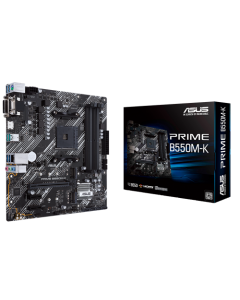 Placa Madre ASUS PRIME B550M-K - Socket AM4 - AMD B550