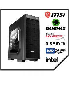 Computador Gamer Armado Intel Core i5 9400, 16GB RAM, Placa B365, Wifi, MSI Video GeForce 1650 Gaming X, Free DOS