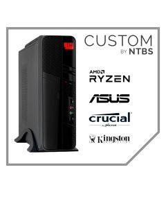 Computador Custom (Ryzen 5 Pro 2400G - Ram 8GB DDR4 - DIsco SSD 480GB - Free DOS)