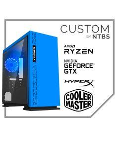 Computador Gamer Custom (Ryzen 5 5600X - MSI Gforce GTX 1650 D6 - 16GB DDR4 - SSD 500GB Black - Free DOS)