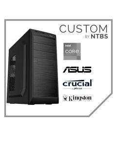 Computador Custom (Intel i7-9700 - Ram 8GB DDR4 - Disco SSD 480GB - Free DOS)