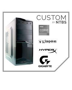 Computador Custom Work (i3-10100 - 16GB Ram - Disco SSD 480GB - Free DOS) Incluye Teclado, mouse y Parlantes.
