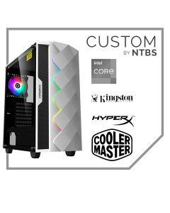 Computador Custom (i3-10100F - 16GB Ram - GeForce GT 710 1GB - SSD 480GB -  Enfriamiento Liquido - Free DOS)