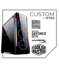 Computador Custom Gamer (i5-11400F - 16GB - MSI GEFORCE GTX 1650 SUPER GAMING X - SSD 480GB -  Enfriamiento Liquido - Free DOS)