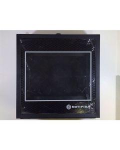 Caja posterior del anunciador Notifier ABS-2D (negro)