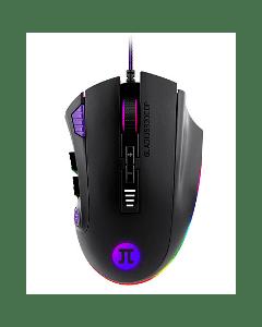 Mouse Gamer Primus Gaming PMO-302, 12 Botones, Hasta 32000 DPI, Cableado, Negro + RGB