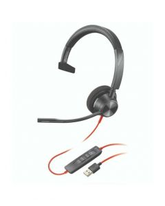 Auriculares Poly Blackwire 3310 USB-A Mono