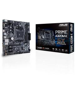 Placa Madre ASUS Prime A320M-K AMD Ryzen AM4 DDR4 HDMI VGA M.2 Micro-ATX