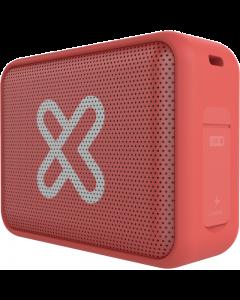 Klip Xtreme Port TWS - Parlante  - Coral orange - 20hr Waterproof IPX7
