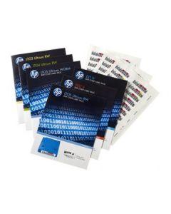 Paquete de etiquetas de código de barras HPE LTO-7 Ultrium RW (Q2014A)