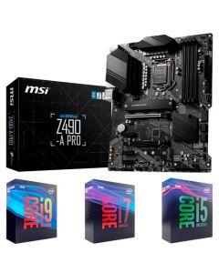 PACK Placa Madre MSI Z390-A PRO - ATX - LGA1151 + Procesador de 9na Generacion - PROMO
