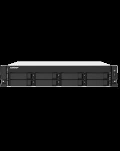 Servidor NAS QNAP TS-873AU-RP, AMD Ryzen V1500B, 4GB DDR4 UDIMM, Sata 6Gb/s