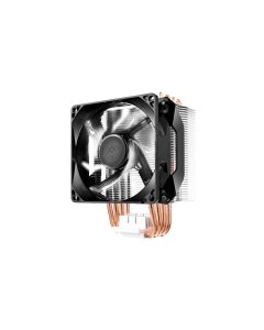 Disipador de Procesador Cooler Master Hyper H411R, 4 heat pipes, White Led, LGA1151, AMD AM4
